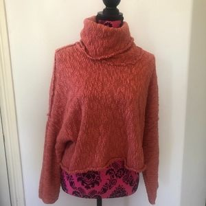 Free People Turtle-Neck Sweater